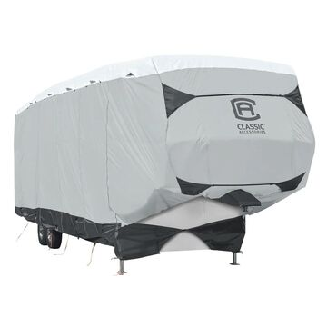 Classic Accessories OverDrive SkyShielda Deluxe TyvekA 5th Wheel Trailer Cover, Fits 23' - 26' Trailers