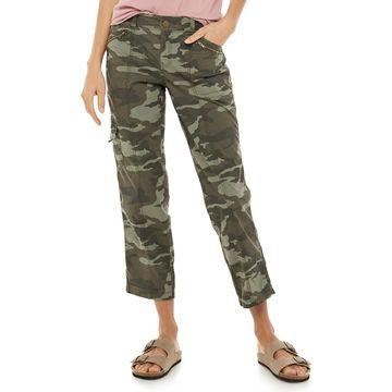 Petite SONOMA Goods for Life Cargo Capri Pants