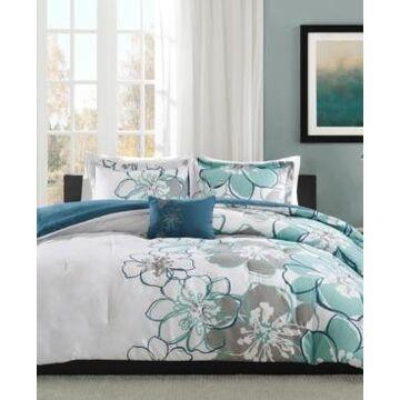 Mi Zone Allison 4-Pc. Full/Queen Comforter Set Bedding