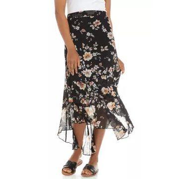 American Rag Women's Zigzag Tier Maxi Skirt -