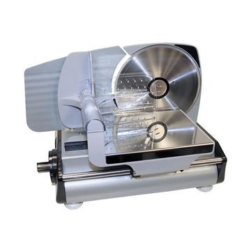 Offex Electric Meat Slicer - Silver