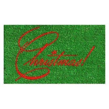 Home & More Christmas Doormat
