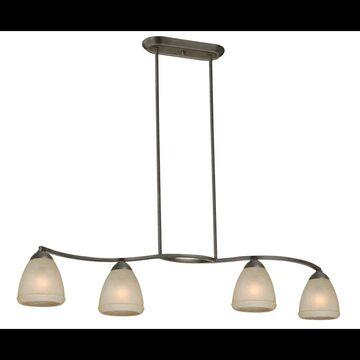Vaxcel Lighting P0005 Helsinki 4 Light Chandelier Black Walnut Indoor Lighting Chandeliers