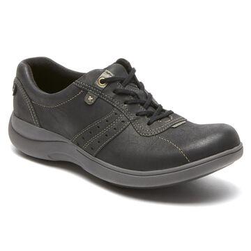 Aravon Womens Revsmart Lace-Up Sneakers - Size 6 D Black