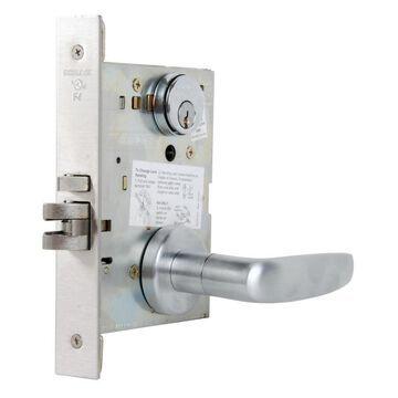 Schlage L Series Mortise Locks Satin Chrome Reversible Keyed Entry Door Handle