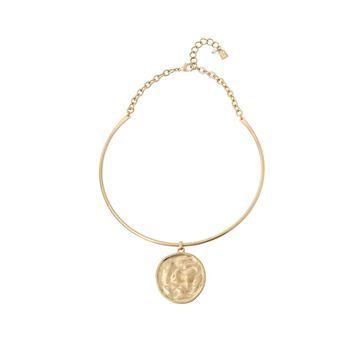 Robert Lee Morris Soho Women's Coin Pendant Collar Necklace