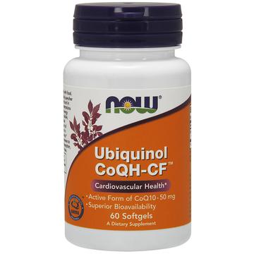 Ubiquinol CoQH-CF Now Foods 60 Softgel