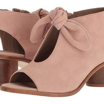 Bernardo Luna Bootie (Blush Suede) Women's Shoes