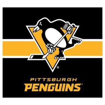 NHL Pittsburgh Penguins Single Garage Door Cover