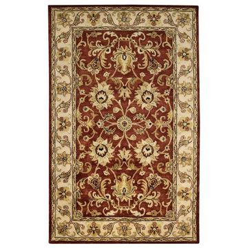 Capel Guilded 5029 Rug, Red, 4'0