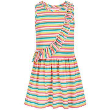 Toddler Girls Rainbow Stripe Dress, Created for Macy's