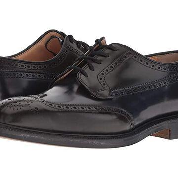 Church's Grafton 173 Tricolor Wing Tip (Black) Men's Shoes