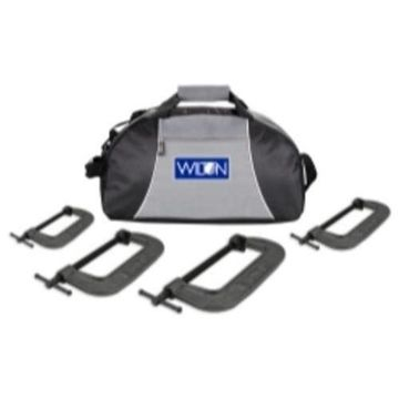 Wilton 4PC540CL 4 Piece Wilton 540a Series C-clamp Kit With Duffle Bag