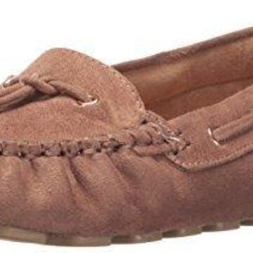 Call It Spring Women's Laossa Moccasin, Taupe, 7 B US