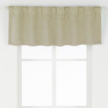eclipse ThermaWeave Blackout Dutton Window Valance
