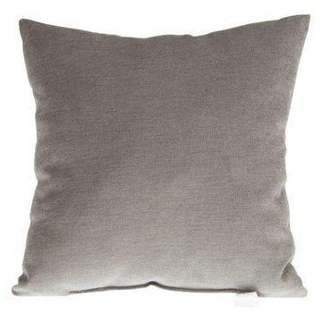 Calliope Gray Velvet Pillow