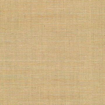 Kenneth James Chiyo Beige Grasscloth Wallpaper