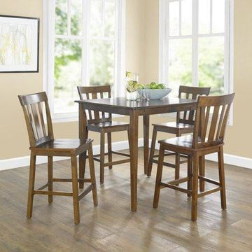 Mainstays 5-Piece Mission Counter-Height Dining Set