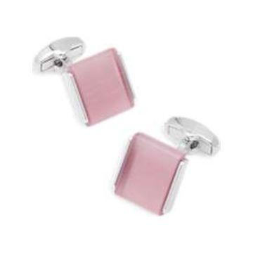 Egara Pink & Silver Cufflinks