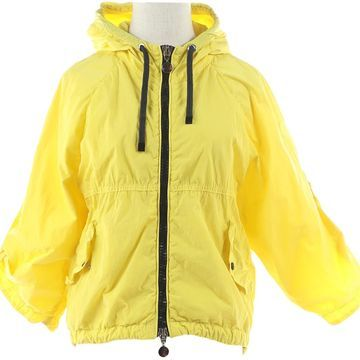 Moncler Yellow Polyester Jackets