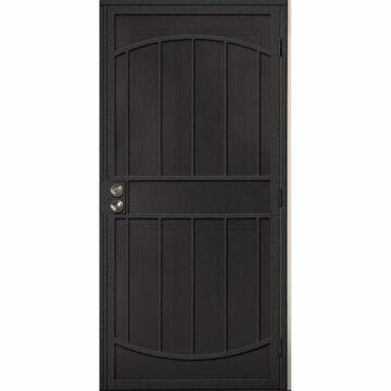 Gatehouse Gibraltar Silverado Steel Surface Mount Single Security Door (Common: 32-in x 81-in; Actual: 35-in x 81.75-in)