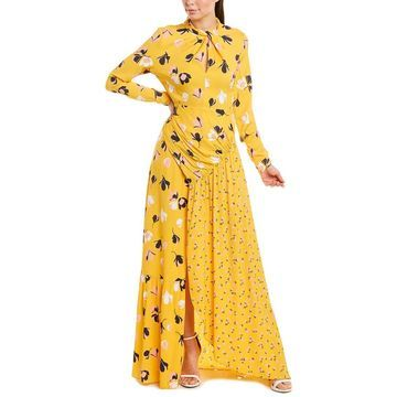 Self-Portrait Womens Maxi Dress