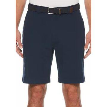 Savane Men's Stretch Flat Front Walk Shorts - -