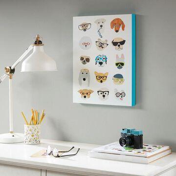 Intelligent Design Hip Dog Box Wall Art