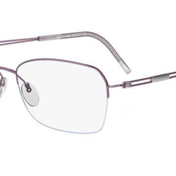 Silhouette TNG NYLOR 4337 6053 Womenas Glasses Purple Size 52 - Free Lenses - HSA/FSA Insurance - Blue Light Block Available