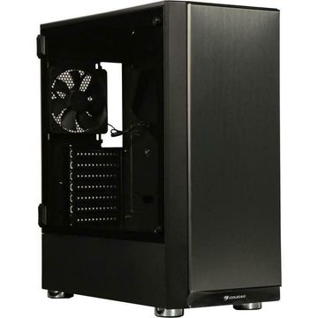Cougar Trofeo Brushed Steel Front Panel With Tempered Glass Gaming Case