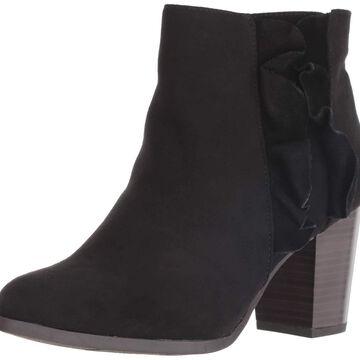 Fergalicious Womens Cashen Leather Almond Toe Ankle Fashion