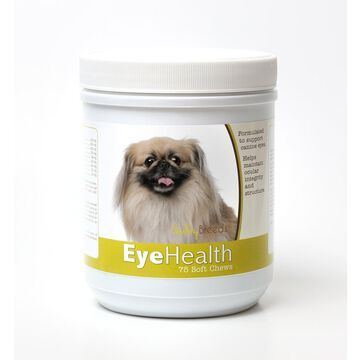 Healthy Breeds 840235145967 Pekingese Eye Health Soft Chews - 75 Count