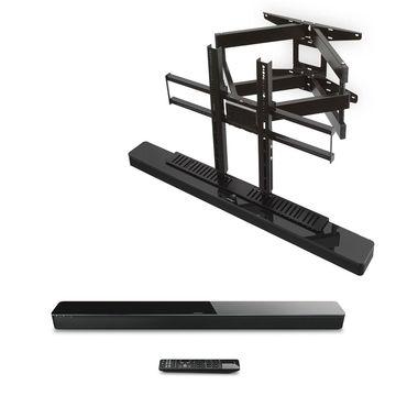 Bose SoundTouch 300 Soundbar with SoundXtra Cantilever Mount