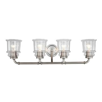 Woodbridge Lighting 19554ATN Elliot 4-Light Bath
