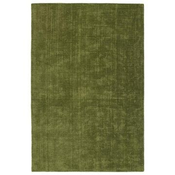 Kaleen Lauderdale 5 x 8 Fern Solid Coastal Handcrafted Area Rug Polyester in Green   LDD01-15-576