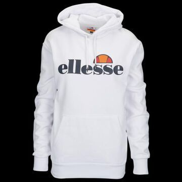 Ellesse Torices Hoodie Sweatshirt - White / Navy Blue
