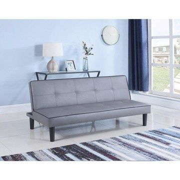 Benzara BM158999 Contemporary Sofa Bed, Gray