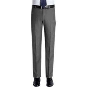Pronto Uomo Gray Slim Fit Slacks