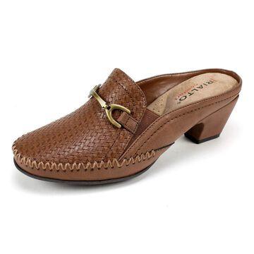 Rialto Womens Suri Leather Almond Toe Mules