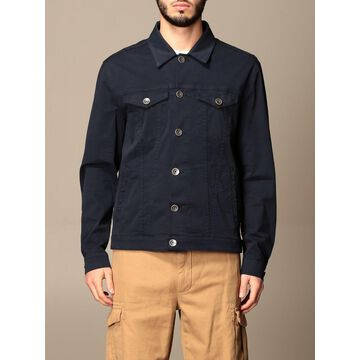Eleventy Jacket Eleventy Cotton Jacket With Welt Pockets