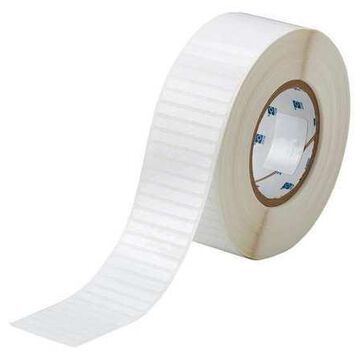 BRADY THT-48-473-10 White Polyester Wire Marker