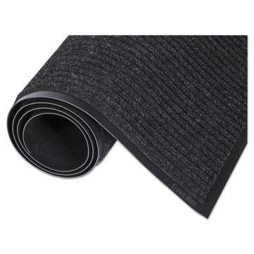 Crown Needle Rib Wipe & Scrape Mat Polypropylene 36 x 60 Charcoal NR0035CH