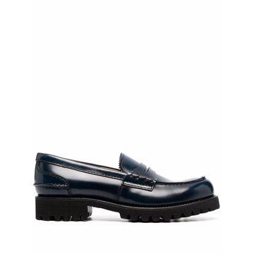 Church's Flat shoes Blue