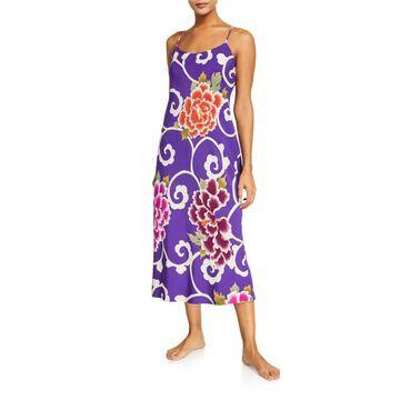 Samarkand Floral-Print Nightgown