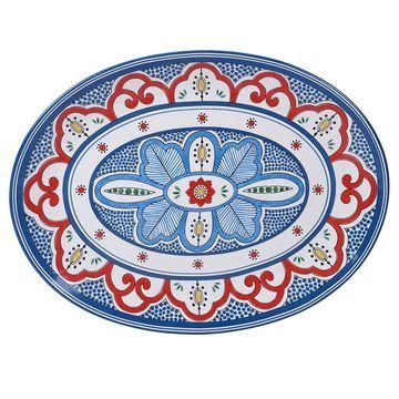 Certified International Tangier Oval Platter