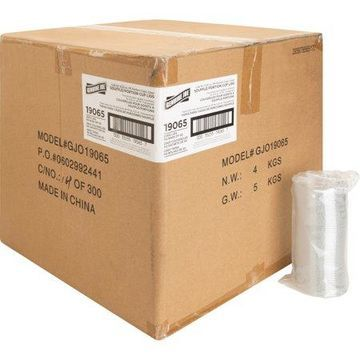 Genuine Joe, GJO19065, Portion Cup Lid, 2500 / Carton, Transparent,Clear
