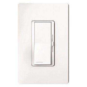 Lutron White Diva CFL, LED, Halogen, And Incandescent Dimmer 3 Pack