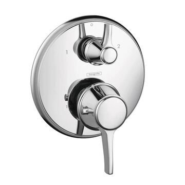 Hansgrohe Metris C Thermostatic Trim with Volume Control and Diverter   15753001