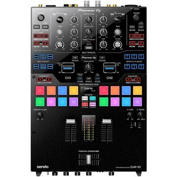 DJM-S9 2-Channel Battle Mixer for Serato DJ with Performance Pads and Dual USB