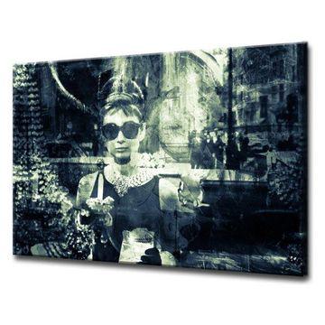 'Iconic Audrey Hepburn' ArtPlexi by Ready2HangArt